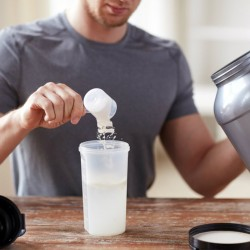 Whey Protein In Milk Or In Water!