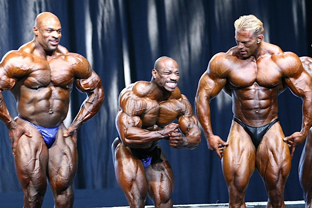 Secrets of professional bodybuilders